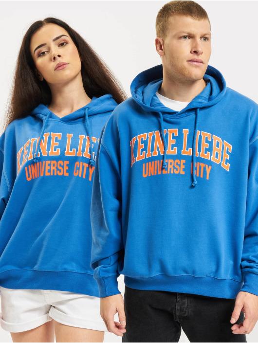 Keine Liebe Hoody Universe City blau