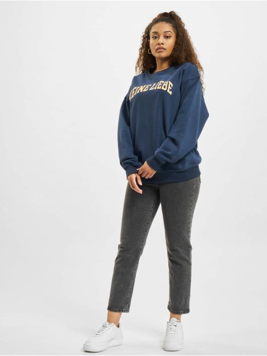 Keine Liebe Pullover College blau