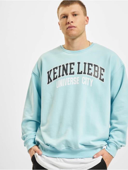 Keine Liebe Pullover Universe City blue