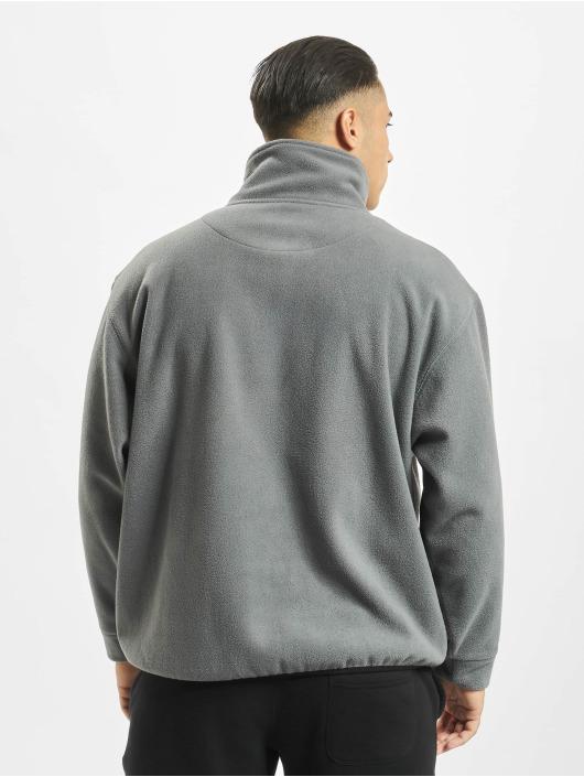 Keine Liebe Pullover Polar Fleece grau