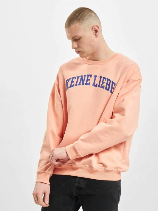 Keine Liebe Pullover College orange