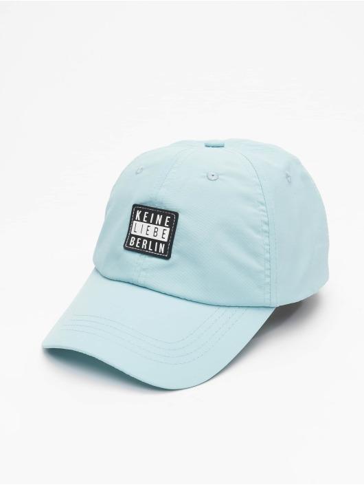 Keine Liebe Snapback Cap Nylon blau
