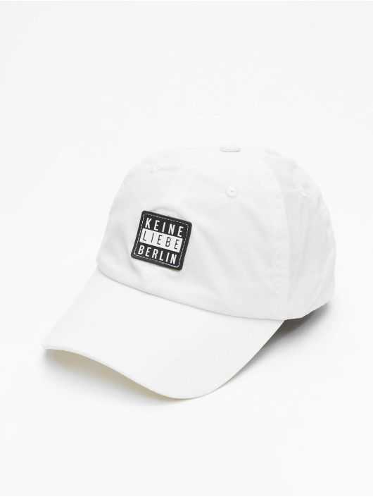 Keine Liebe Snapback Caps Nylon hvid
