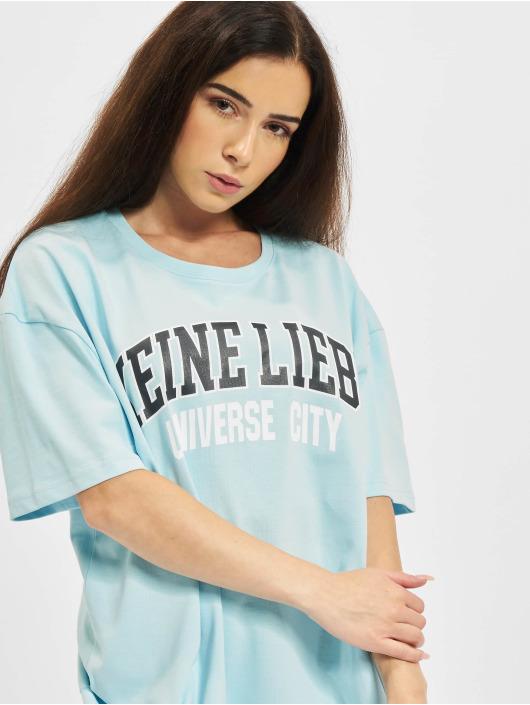 Keine Liebe T-Shirt Universe City blau