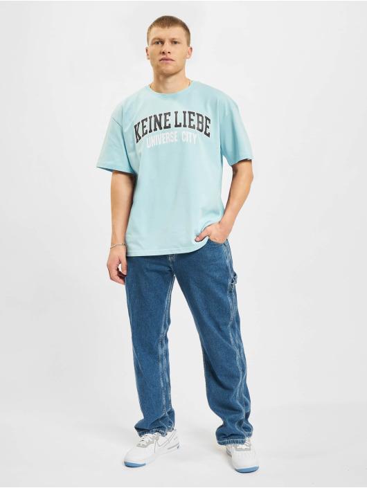 Keine Liebe T-Shirt Universe City blue