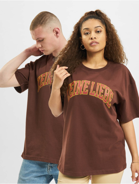Keine Liebe T-Shirt Summer Heights High braun