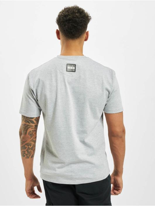 Keine Liebe T-Shirt Kreuzberg grau