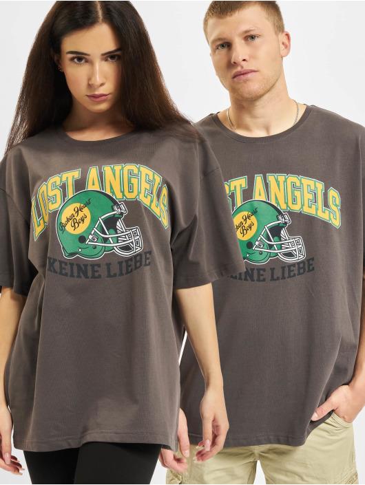 Keine Liebe T-Shirt Ballhead grau