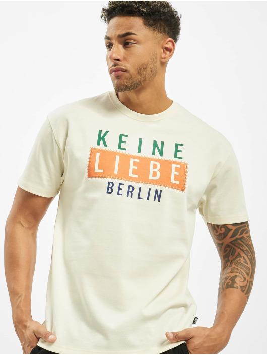 Keine Liebe T-Shirty Kreuzberg bezowy
