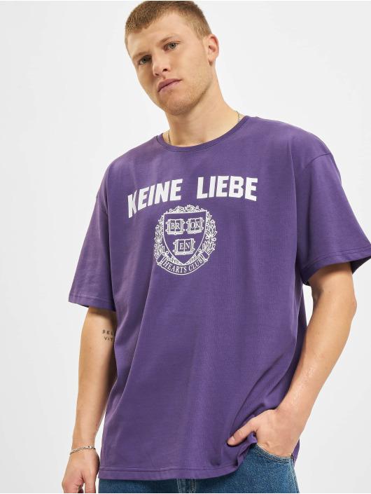 Keine Liebe T-skjorter KL BHB lilla