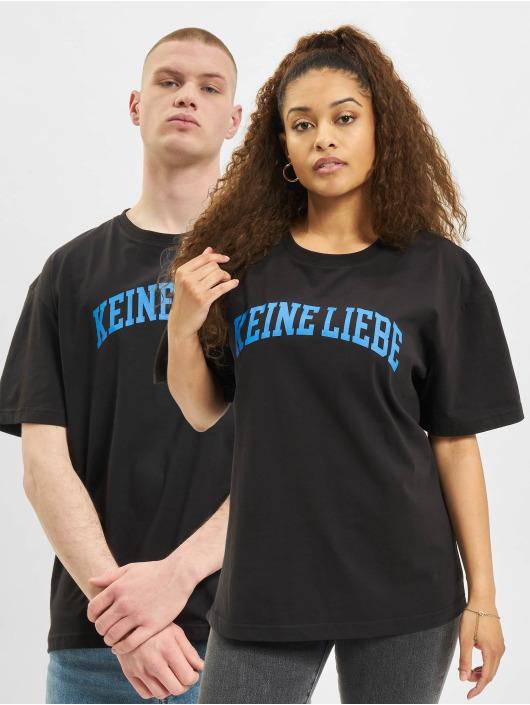 Keine Liebe T-skjorter College svart