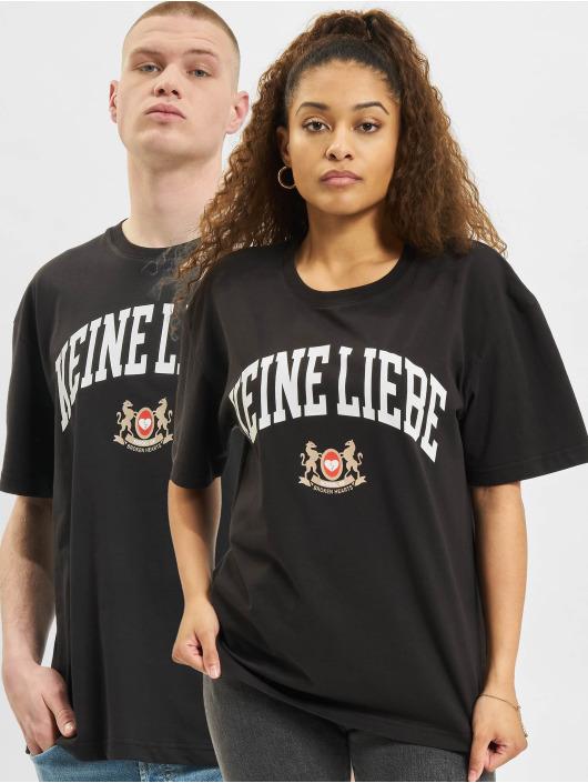 Keine Liebe T-skjorter SOBH svart