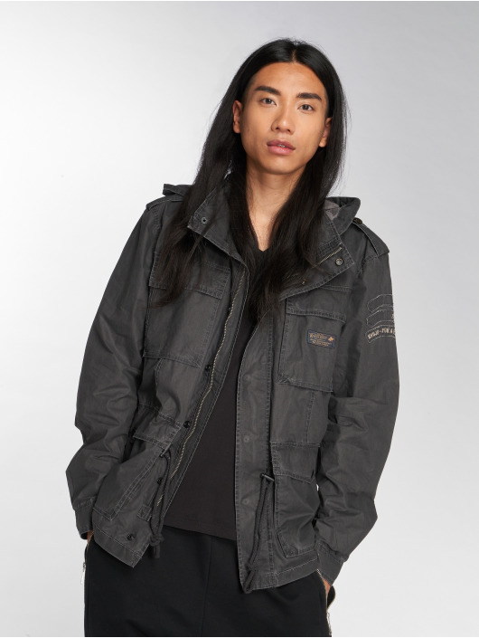 Khujo Lightweight Jacket Marek black