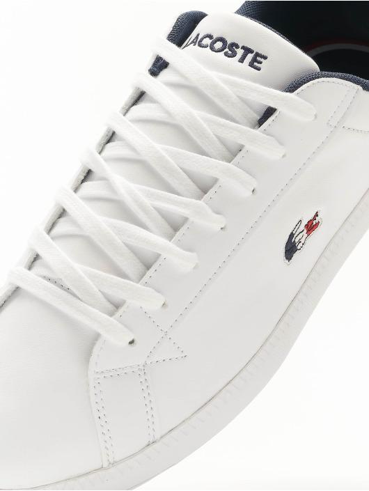 Lacoste Baskets Graduate TRI1 SMA blanc