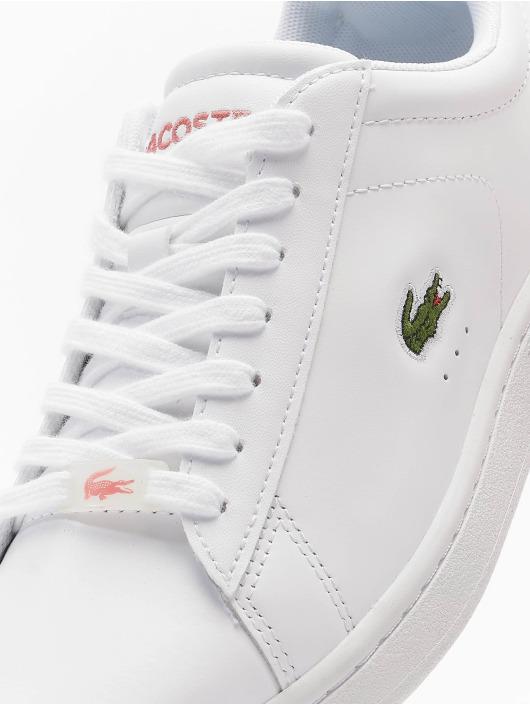 Lacoste Baskets Carnaby Evo 0121 2 SFA blanc