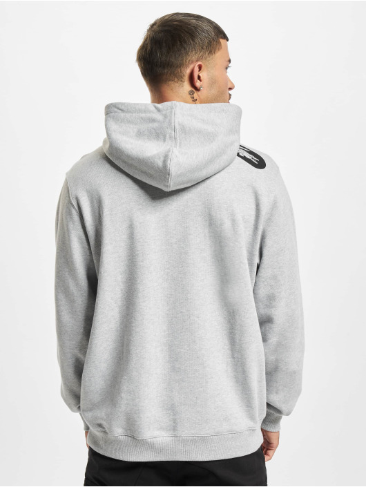Lacoste Bluzy z kapturem Logo szary