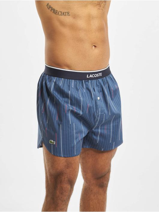 Lacoste Boxerky 3 Pack Woven modrá