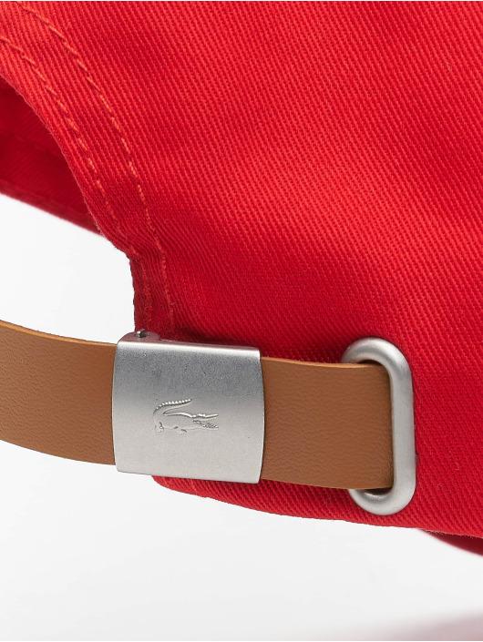 Lacoste Casquette Snapback & Strapback Classic rouge