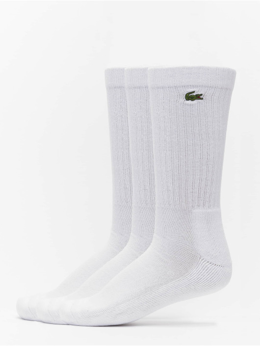 Lacoste Chaussettes Sport 3-Pack blanc