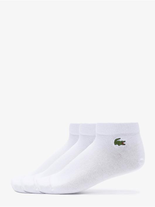 Lacoste Chaussettes 3-Pack blanc