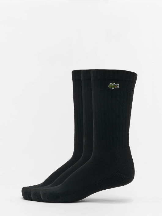 Lacoste Chaussettes Sport 3-Pack noir