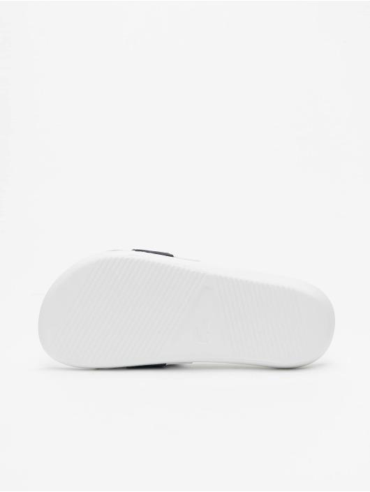 Lacoste Claquettes & Sandales Croco Slide 0721 1 CFA blanc