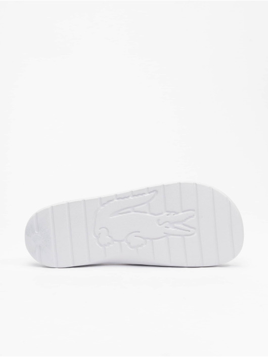 Lacoste Claquettes & Sandales Croco 2.0 0721 2 CMA blanc