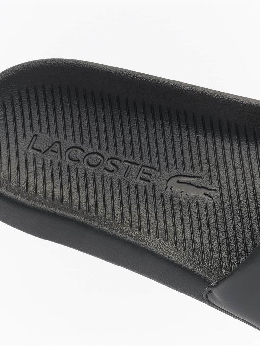 Lacoste Claquettes & Sandales Croco Slide 0721 1 CMA noir