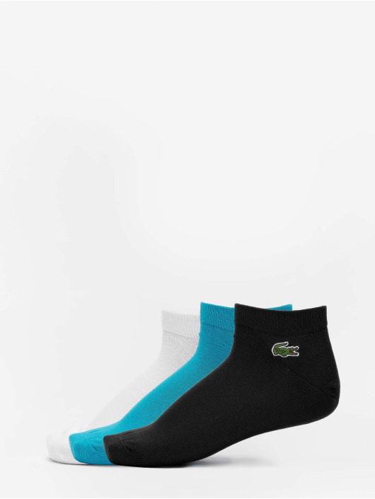 Lacoste Classic Ponožky 3 Pack èierna