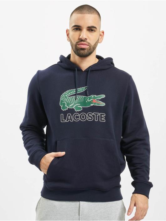 Lacoste Hoodie Logo blue