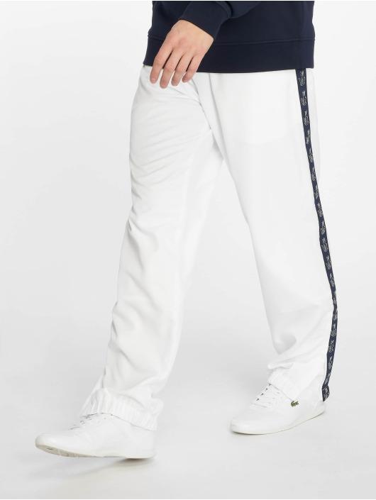 Lacoste joggingbroek Croco Stripe wit