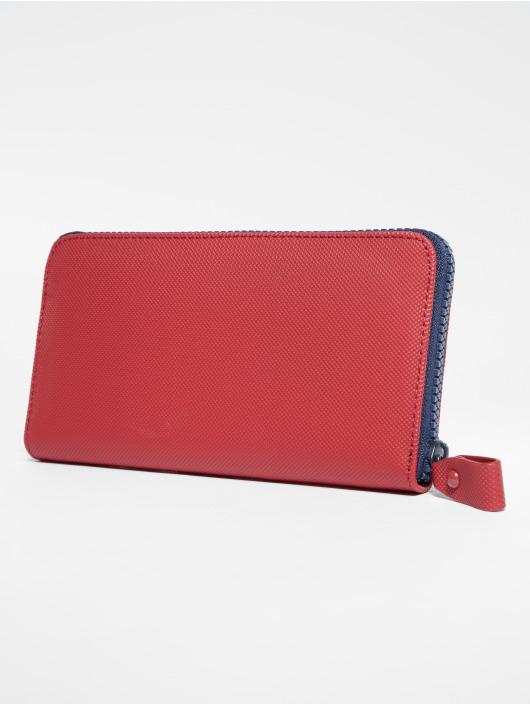 e668fd1ea5 Lacoste | Classic L Zip rouge Femme Portefeuille 523572