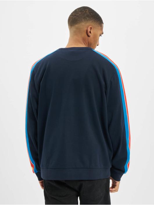 Lacoste Pulóvre Contrast modrá