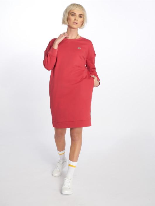 Rouge 523884 Lacoste Robe Femme Etsocal FnwTq4U8