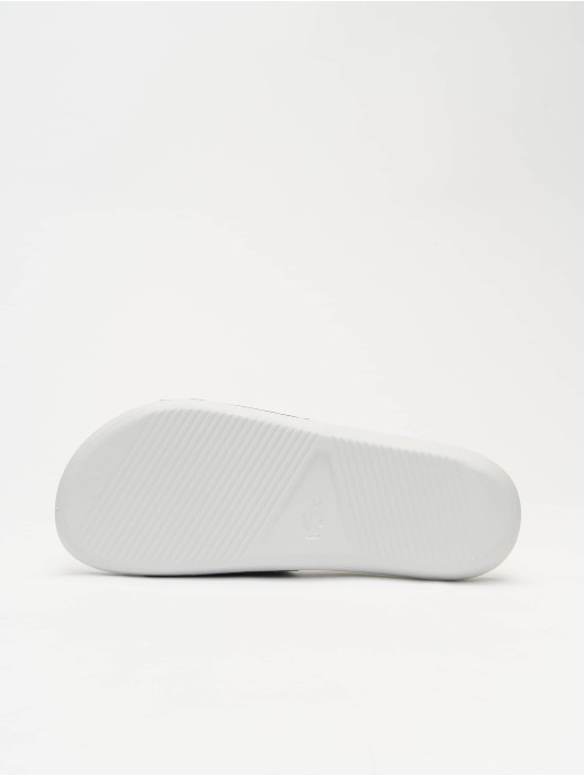 Lacoste Sandalen Croco Slide Tri III CMA weiß