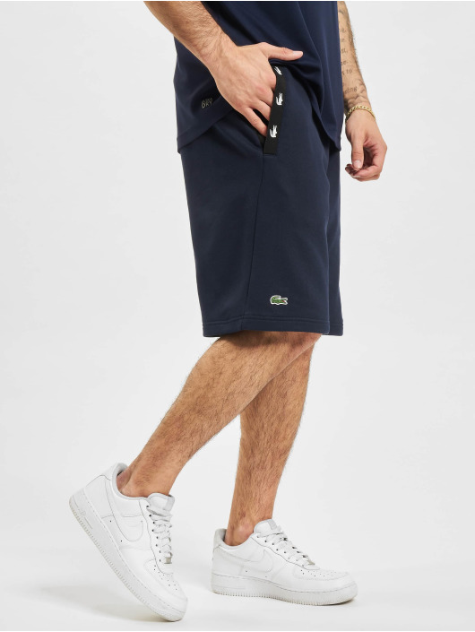 Lacoste shorts Sport blauw
