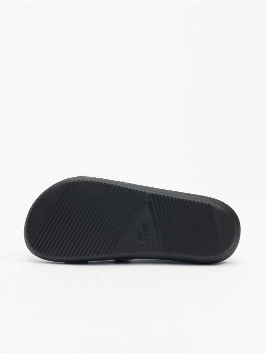 Lacoste Slipper/Sandaal Croco Slide 0721 1 CFA zwart