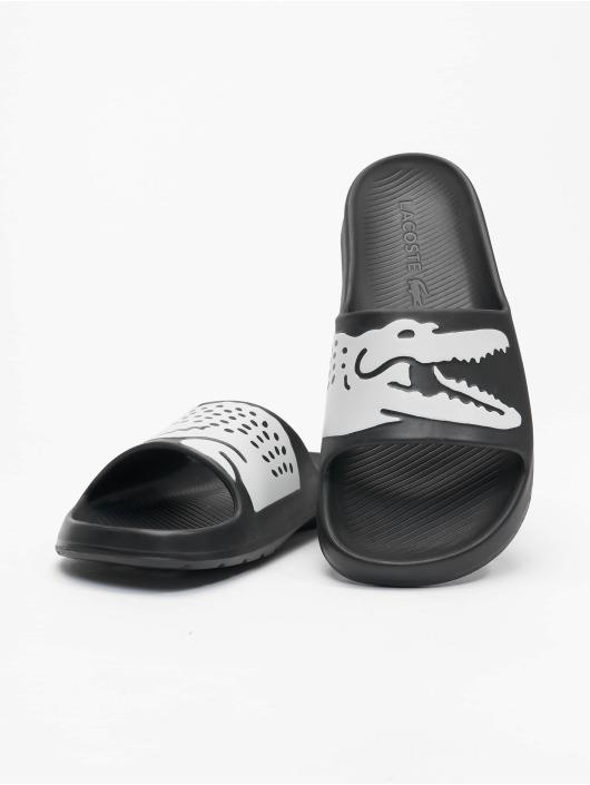 Lacoste Slipper/Sandaal Croco 2.0 0721 2 CMA zwart