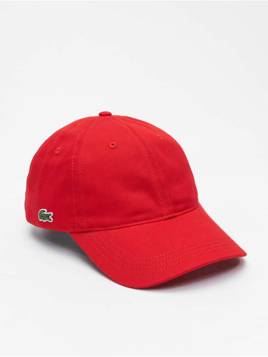 Lacoste snapback cap Classic rood
