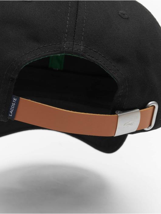 Lacoste Snapback Cap Plain schwarz