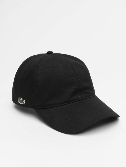 Lacoste Snapback Caps Plain musta