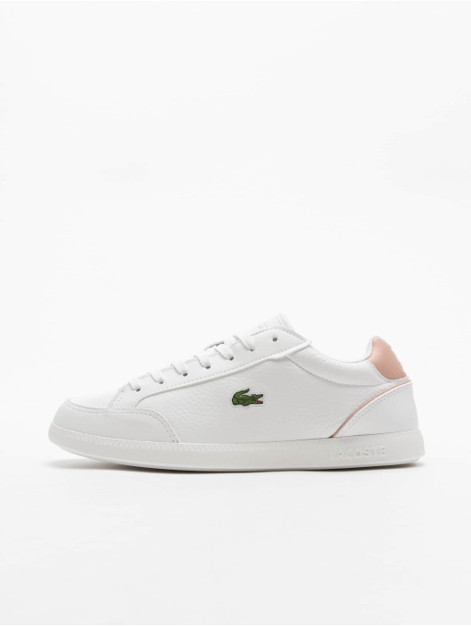 Lacoste Sneakers Graduate Cap bialy