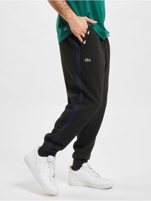 Lacoste Spodnie do joggingu Sweat czarny