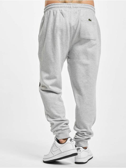 Lacoste Spodnie do joggingu Fleece szary
