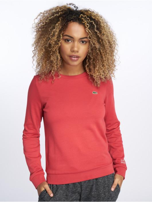 Lacoste Swetry Classic czerwony