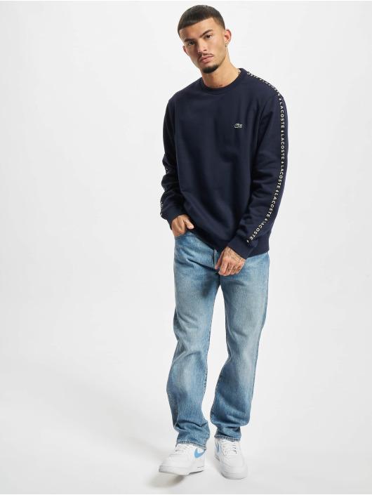 Lacoste Swetry Logo niebieski