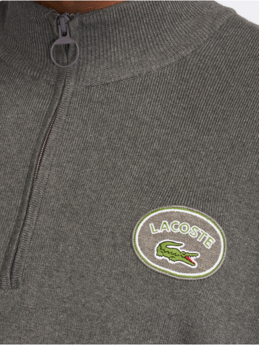 Lacoste Swetry Vintage szary