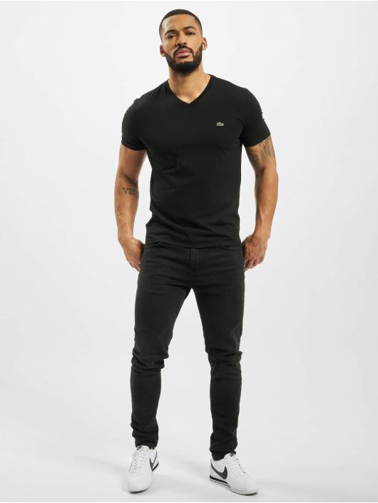 Lacoste T-paidat Basic musta