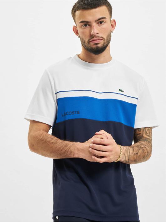 Lacoste T-paidat Stripe valkoinen