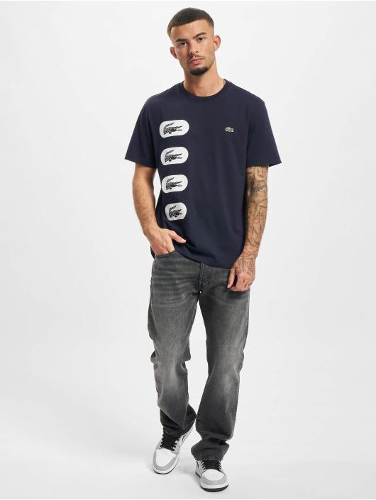 Lacoste T-shirt Logo blå